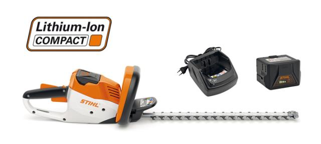 Stihl HSA56 Battery Hedge Trimmer (SET)